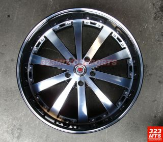24 inch Wheels Redsport RSW77A Wheels Rims Truck Range Rover Ford GMC
