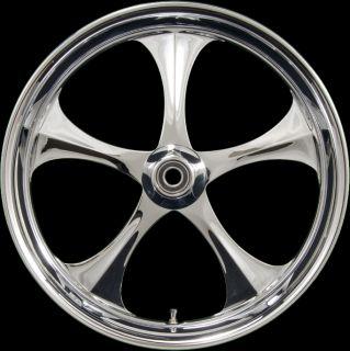 Hogpro Shelby Chrome Wheels Harley Street Ultra Electra Glide FLH 2000