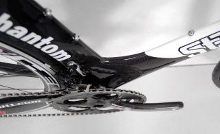 STRADALLI Carbon TT Tri Bike Bicycle SRAM Red Black Hed
