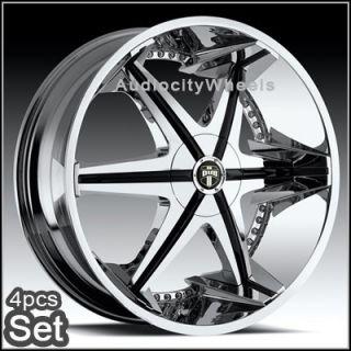 26inch Wheels Rims Chevy Tahoe Escalade Ford RAM