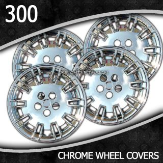 2005 2010 Chrysler 300 17 inch Chrome Wheel Skin Covers