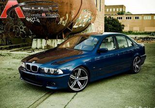 19x8 5 BMW M6 Sytle 5x120 E17 Machined Face Rims Wheels