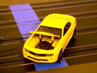 Custom Modified 2010 Camaro RS AFX Mega G Long HO Scale Slot Car