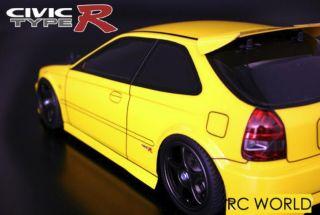 10 RC Body Honda Civic Type R Body Shell