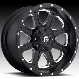 Fuel Boost 17x9 5x5 5x5 5 Jeep Wrangler Dodge RAM 1500 Rims