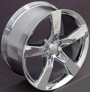 20 Camaro SS Chrome Wheels Set of 4 Rims Fits Chevrolet