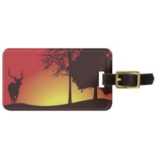 Deer Hunter Luggage Tag