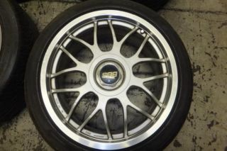 JDM 18 BBs Wiser RG RG214 Rims Wheels 5x114 3 18x8 45 Japan Authentic