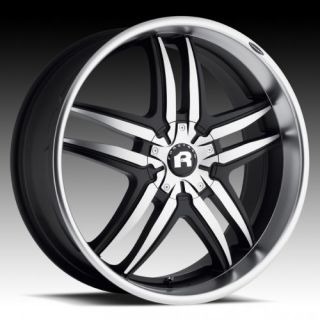 inch Forgiato Reventon Vizzo Wheels Rims Black Machine 5x5 15
