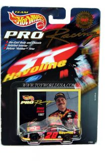 Hot Wheels PRO Racing 1st Ed. 1997 #28 ~ TEXACO ~ Ernie Irvan Ford