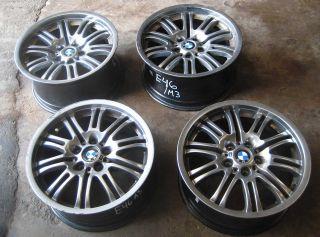 BMW E46 M3 Used Style 67 Wheels Rims 18 01 06