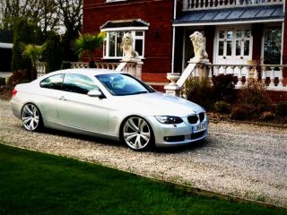19 Mania Savoy Silver Wheel Fit BMW E46 E90 E91 E92 323 325 328 330