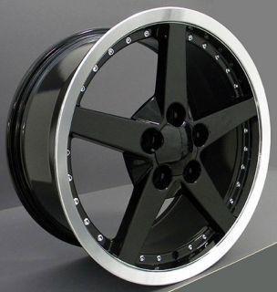 18 Rims Fit Camaro Corvette C6 Deep Dish Wheels Set
