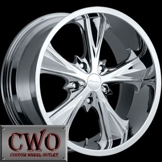 18 Chrome Panther Juice Wheels Rims 5x114 3 5 Lug Jeep Wrangler