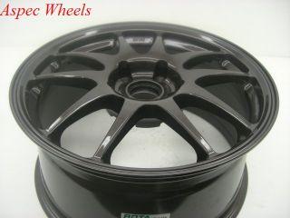 17x8 Rota Torque 5x100 48 Gun Metal Wheel Fits WRX STI Legacy Outback