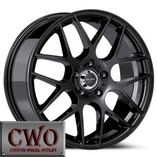 18 Black Ruff R356 Wheels Rims 5x112 5 Lug Passat Audi Mercedes A4 A6