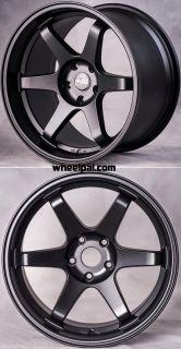18 Miro 398 TE37 Style Wheels for Nissan 350Z 370Z Infiniti G35 Coupe