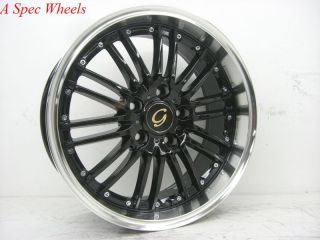 17x7 5 G Line G820 Wheel 5x112 38 Black Machine Rim Fits Audi A4 A5 TT