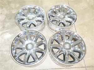 05 06 Chrysler 300 18 Chrome Take Off Wheels Rims Set
