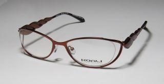 New Koali by Morel 6982K 52 17 130 Copper Ruby Full Rim Eyeglasses