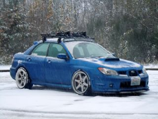 Varrstoen TE37 Style Wheels Rims Fit Subaru STI Sedan 2004 Only