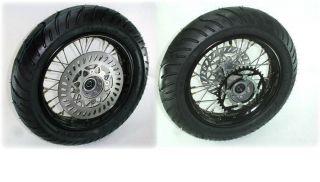 Pit Bike 12 Rims Wheels Tires Motard Street Sprocket