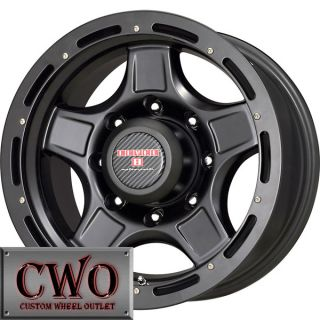 17 Black Level 8 ZX Wheels Rims 5x139 7 5 Lug Dodge RAM Durango Dakota