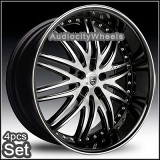 22 Lexani LX10 Wheels,Rims(HugeLip) 5Lug Chevy Truck Camaro Impala ad