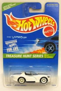 Hot Wheels 1996 TH Treasure Hunt White Dodge Viper