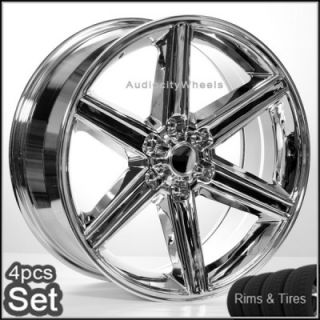 24 IROC Wheels and Tires 6LUG Escalade Tahoe Chevy Siverado Rims