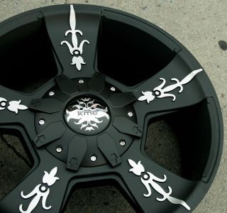 KMC Vandal 668 20 Black Rims Wheels Ford Expedition 97 02 20 x 9 0 5H