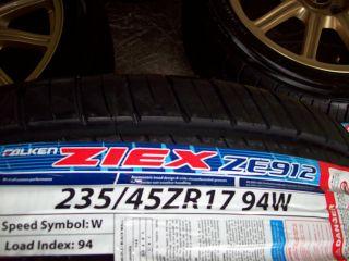 STI GT BBs Factory WRX Legacy Wheels New Falken Ziex Tires