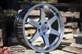 18x8 5 Varrstoen ES221 5x100 Hyper Black Wheel Fit Toyota Celica
