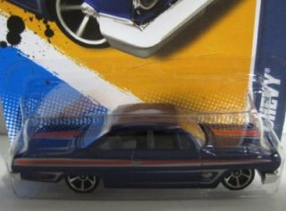 Hot Wheels 62 Chevy 2012 Factory Hologram Master Set 1 64 Scale w