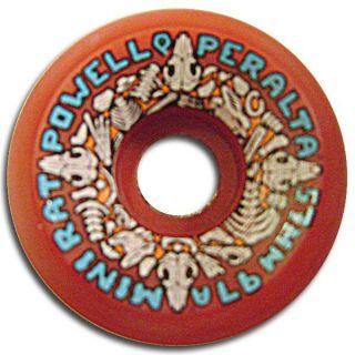Powell Peralta Mini Rats Skateboard Wheels 57mm 97A Red