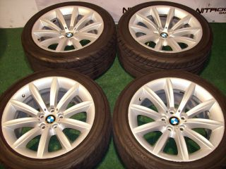 19 Factory BMW Wheels 7 Series 740 745 750 760 B7 Tires Set E38 E65