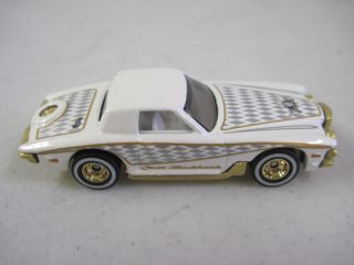 Edition Gold Stutz Blackhawk Hot Wheels 1979 Silver Diamond