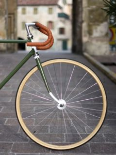 CB Italia Wooden Rims for Race Road and Track Bicycle