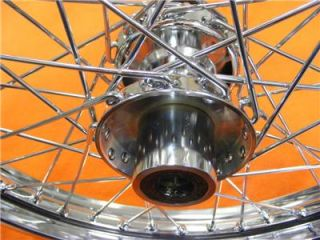 21 inch Front Wheel Fit Harley 40 Spoke EVO Wide Glide