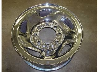 RAM 2500 3500 CHROME Steel WHEEL Rim OEM 94 99 SLT Factory VAN 8 lug