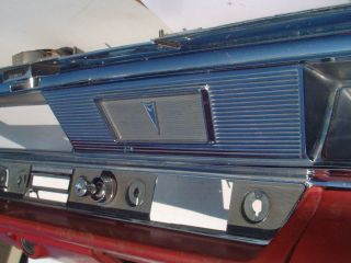 63 1963 Pontiac Catalina Dash Bezel w Nice Chrome
