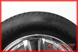 TAHOE LTZ SILVERADO GMC YUKON CHROME WHEELS GOODYEAR TIRES 22 OEM GM