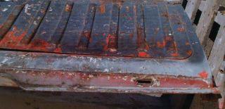 64 65 66 67 Chevy El Camino Orig Tailgate 1965 1966