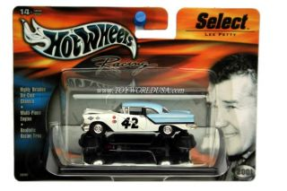 Hot Wheels Racing Select 42 Lee Petty 57 Oldsmobile