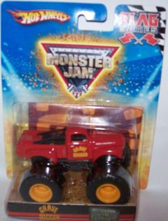 Hot Wheels Monster Jam 1 64 Grave Digger Red 24 75