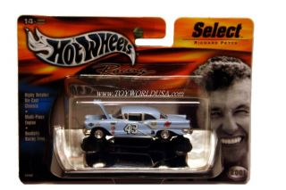 Hot Wheels Racing Select 43 Richard Petty 57 Oldsmobile
