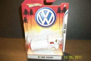 2007 Mattel Hot Wheels Rat Rods 67 VW Bus Pickup Ambulance