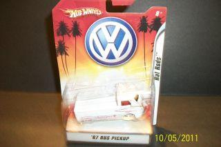 2007 Mattel Hot Wheels Rat Rods 67 VW Bus Pickup Ambulance
