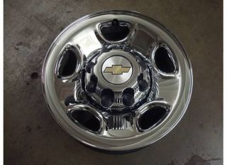 Silverado GMC Sierra 2500 HD Wheel Chrome Rim Steel 00 10 3500