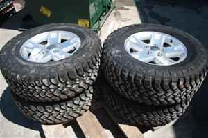 01 02 03 04 Ford F150 Aluminum Wheels Tires Set